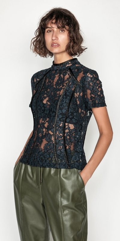 Tops | Corded Lace Top