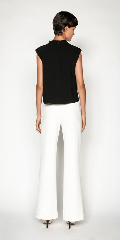 Tops and Shirts | Drapey Funnel Neck Top