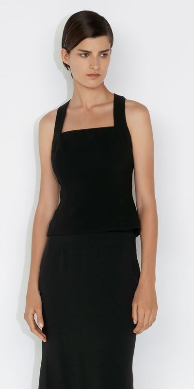 Made in Australia  | Cut Out Back Top