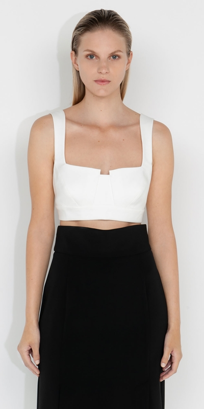 Tops and Shirts  | Organic Cotton Bustier