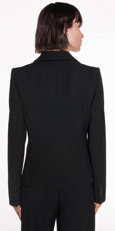 Jackets   Twill Single Button Jacket