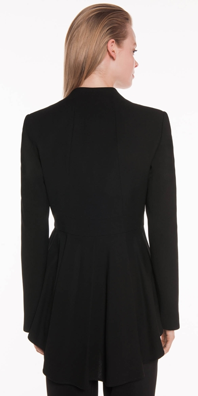 Jackets | Shaped Hem Jacket