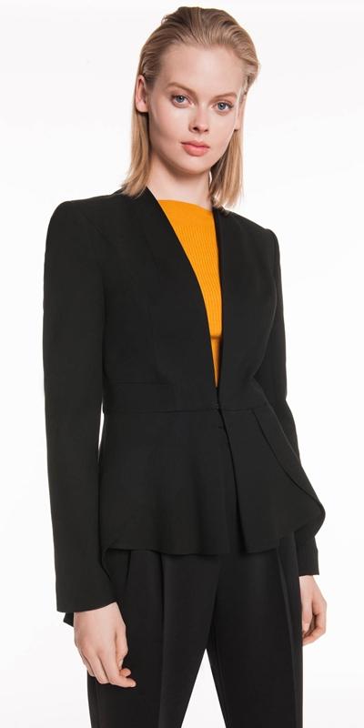 Wear to Work | Shaped Hem Jacket