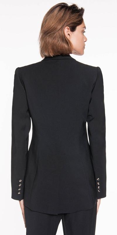 Jackets | Asymmetric Draped Jacket