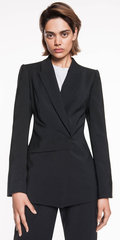 Sale  | Asymmetric Draped Jacket