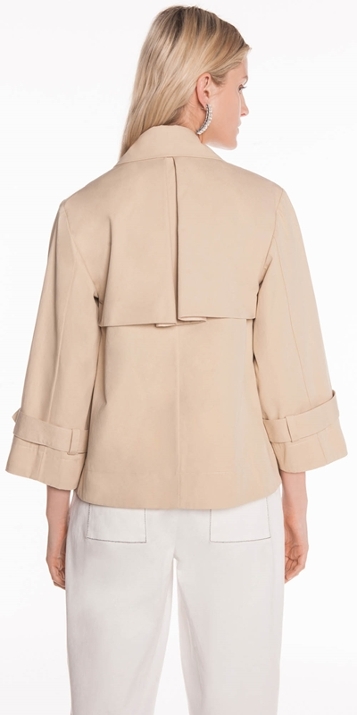 Jackets | Cotton Twill Double Breasted Jacket