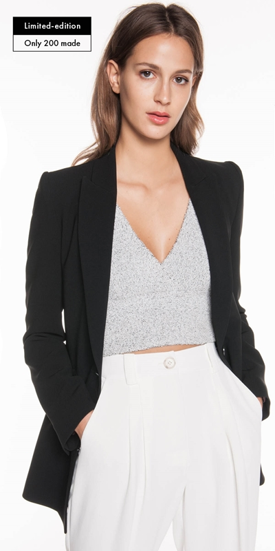 Jackets  | Anniversary Embroidered Blazer