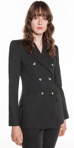 Jackets | Charcoal Melange Blazer