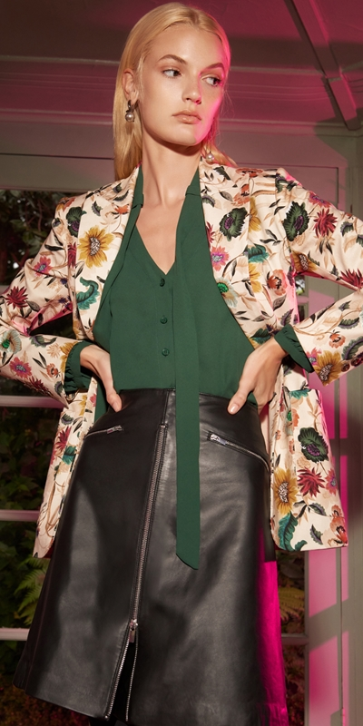 Made in Australia  | Vivid Floral Blazer