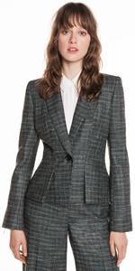 Jackets | Tweed Tuxedo Jacket