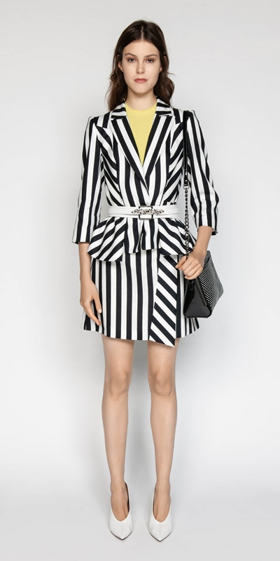 Sale | Graphic Stripe Jacket