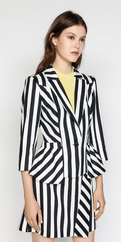 Made in Australia  | Graphic Stripe Jacket