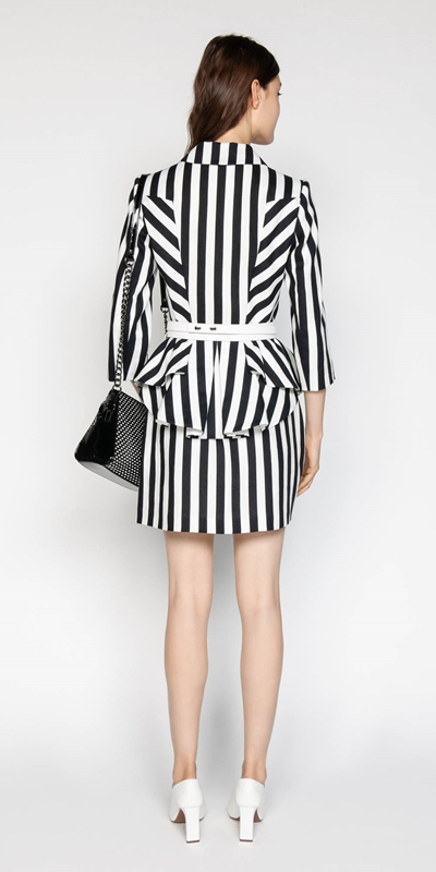 Jackets | Graphic Stripe Jacket