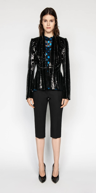 Made in Australia | Sequin Tuxedo Jacket