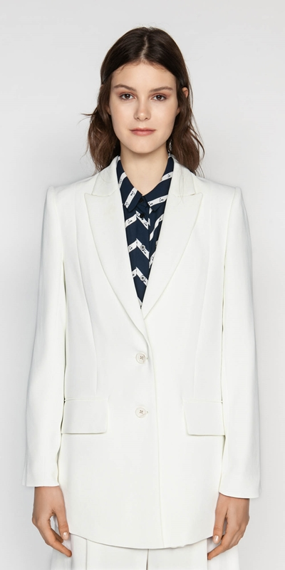 Made in Australia  | Ivory Relaxed Blazer
