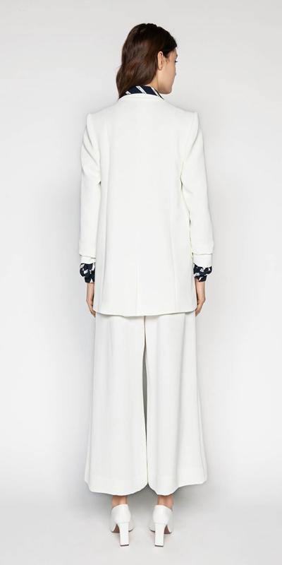 Jackets | Ivory Relaxed Blazer