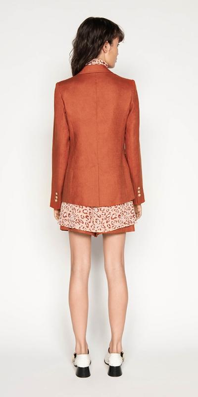 Jackets   Linen Relaxed Blazer