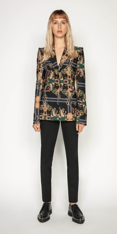 Wear to Work | Golden Baroque Blazer