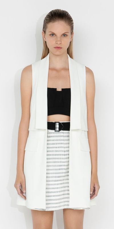Tops and Shirts  | Cross Back Vest