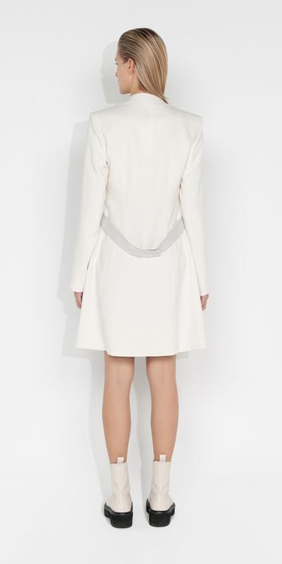 Jackets and Coats | Melange Wrap Front Jacket