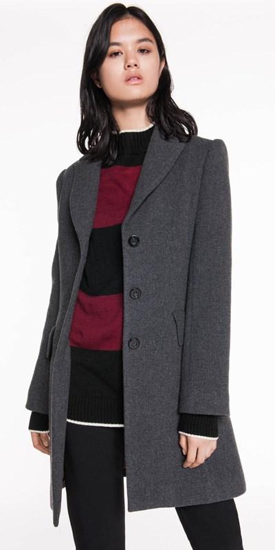 Sale  | Textured Wool Coat