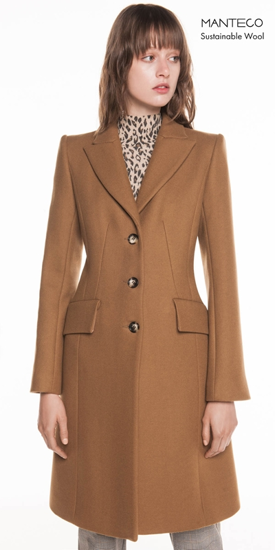 Made in Australia  | Camel Wool Twill Coat