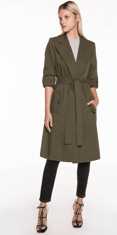 Jackets | Relaxed Trench Coat