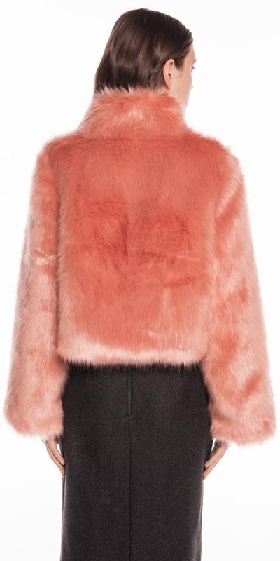 Coats | Blush Faux Fur Jacket