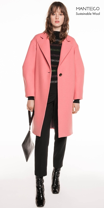 Made in Australia | Pink Twill Coat