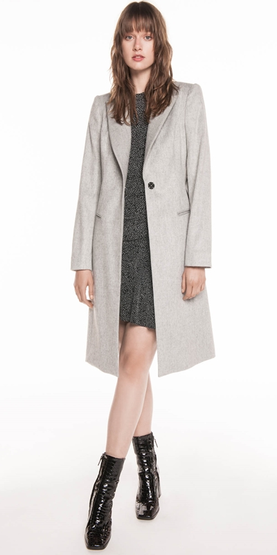 Coats | Brushed Melange Coat