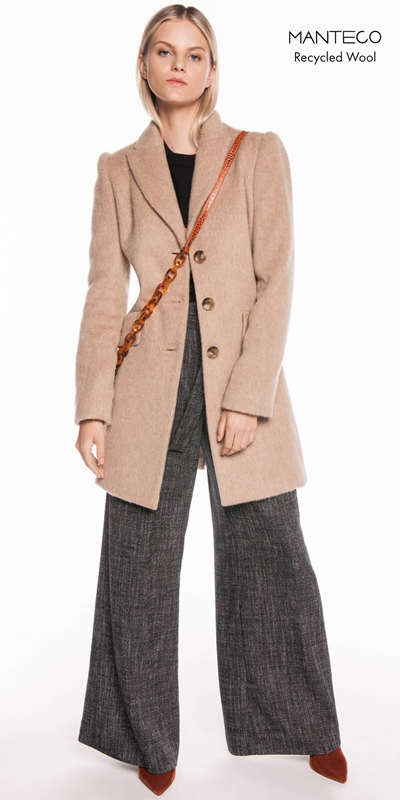 Coats  | Camel Mohair Relaxed Coat