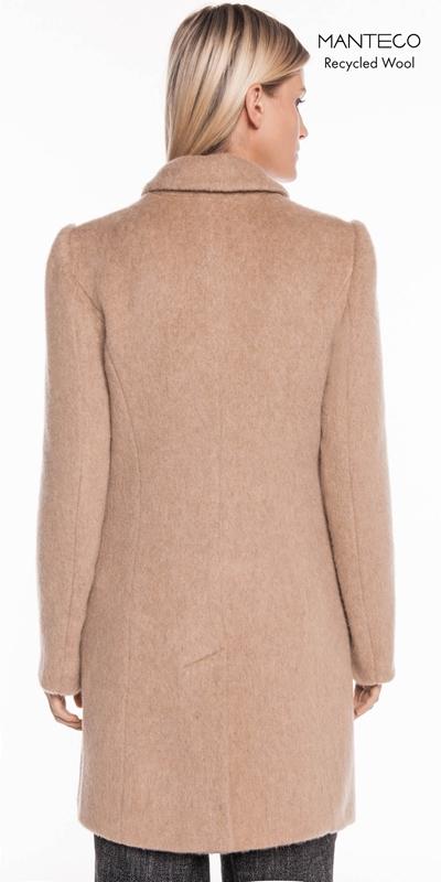 Coats | Camel Mohair Relaxed Coat