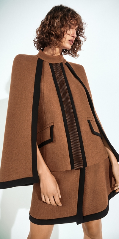 Wear to Work  | Cinnamon Twill Cape