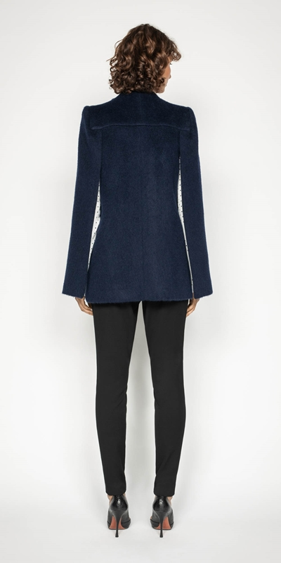 Coats   Brushed Mohair Cape