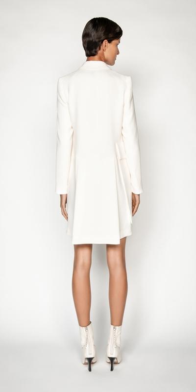 Coats | Asymmetric Double Breasted Coat