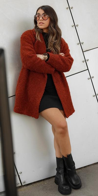 Coats | Boucle Coat