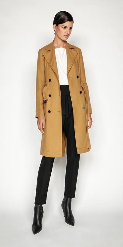 Coats | Linen Blend Trench