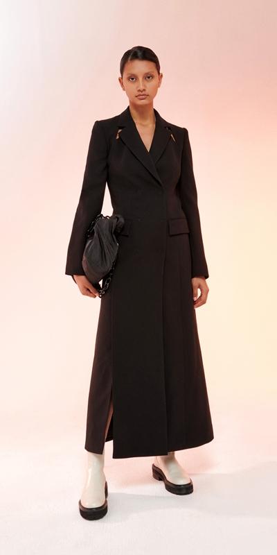 Dresses  | Cut Out Maxi Coat