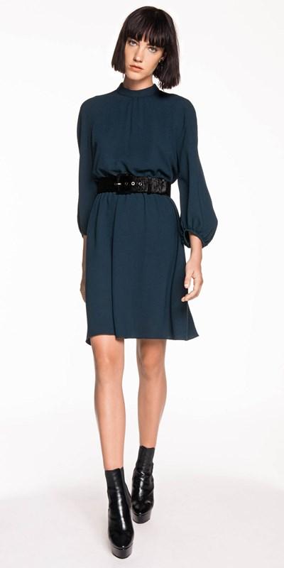 Sale | Georgette Blouson Sleeve Dress