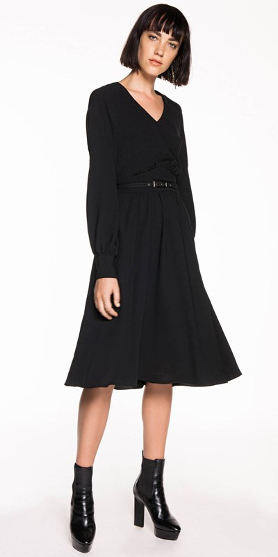 Skirts | Georgette Long Line Dress