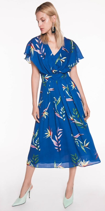 Made in Australia | Paradise Floral Chiffon Dress