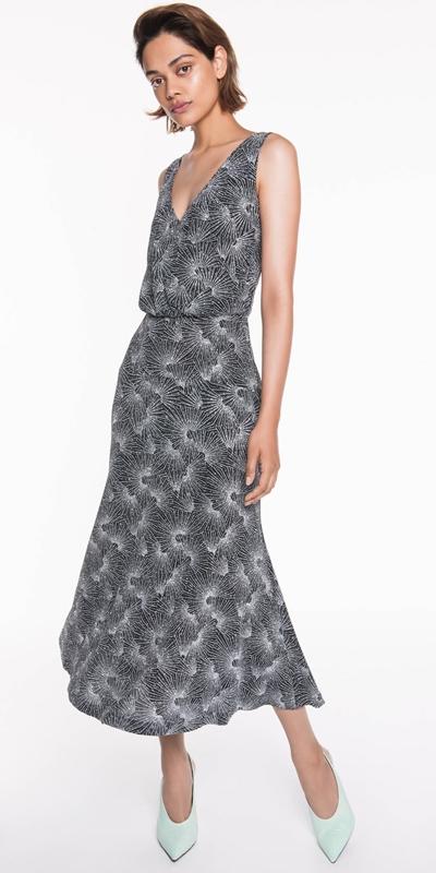 Sale | Silver Sparkle Midi Dress