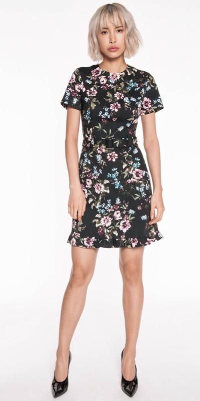 Sale | Floral Belted Dress