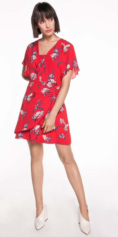 Made in Australia  | Crane Floral Magyar Dress