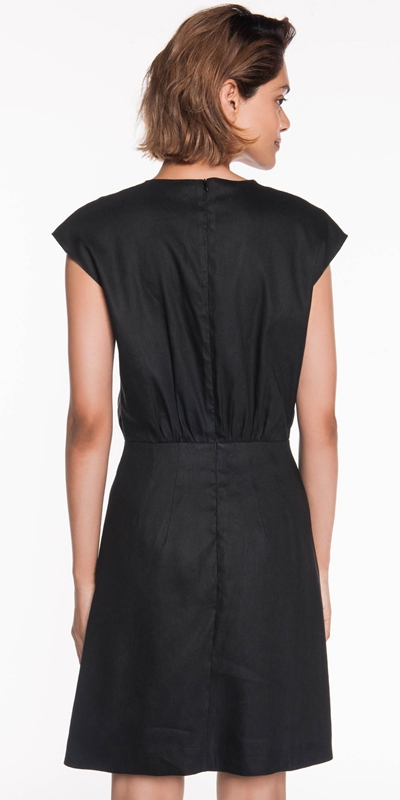 Dresses | Linen Wrap Dress
