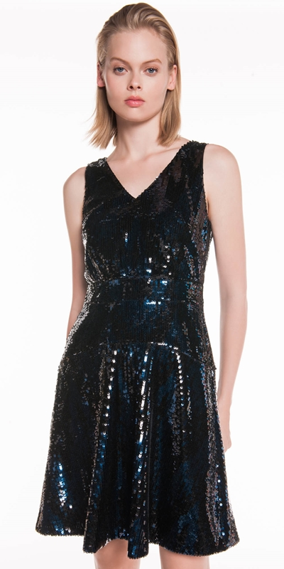 Sale  | Two Tone Sequin Dress