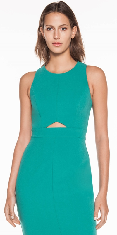 The Party Edit  | Keyhole Pencil Dress