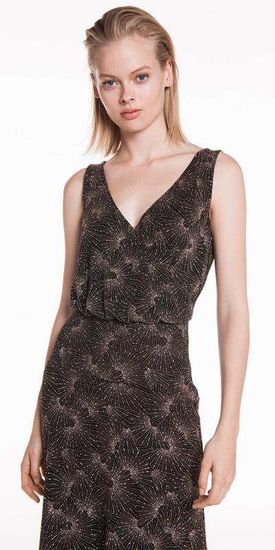 Sale  | Sparkle Knit Midi Dress