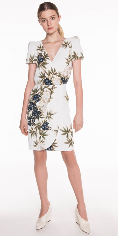 Made in Australia | Kimono Floral Crepe Dress