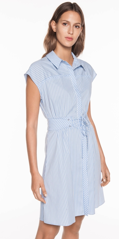 Sale | Cotton Stripe Dress